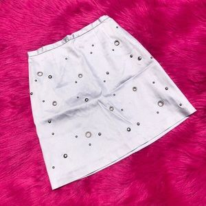 Vintage Lavender Midi Skirt